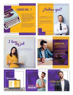 Esteban Salamanca on Behance Social Media Poster, Social Media Quotes, Social Media Branding, Social Media Banner, Social Media Template, Social Media Graphics, Social Media Marketing, Corporate Branding, Ideas Fotos Instagram