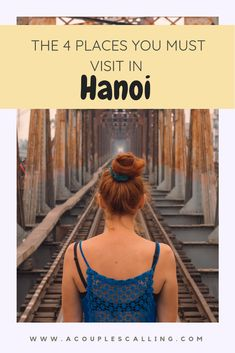 Hanoi is Vietnam's capital city, and has so many things to see and do! Of course Hanoi street train Vietnam Travel Guide, Asia Travel, Travel Tips, Travel Plan, Travel Stuff, Travel Ideas, Hoi An, Da Nang, Good Morning Vietnam