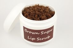 Dry, chapped lips are no fun. Luckily you don't need to buy expensive lip exfoliator when you already have the ingredients for a tasty and homemade lip scrub in your kitchen pantry. Making your own brown sugar lip scrub is a fun activity for a girl's slumber party or a makeover party.