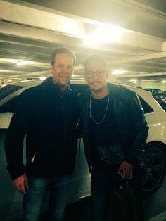 Neymar & Fan nach dem Spiel gegen Malaga (21.02.2015) Photo by @Barenbrug_FB via twitter 