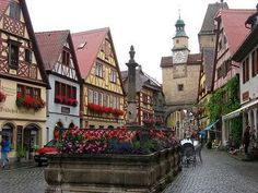 Rothenburg, Bavaria, Germany...been here! Most adorable town in Europe.