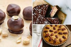 11 No-Bake Desserts and Sweets You don't need an oven to create an impressive and decadent dessert. From pies to cheesecakes, here are 11 no-bake dessert recipes that will satisfy the biggest sweet tooths. Quick Easy Desserts, No Bake Desserts, Just Desserts, Dessert Recipes, Dinner Recipes, No Bake Treats, No Bake Cookies, Desserts With Chocolate Chips, Desserts Caramel