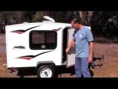 Runaway Mini Camper Camping Trailer $2,495 Affordable Teardrop Alternative