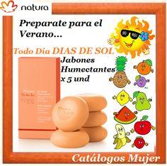 TODO DIA DIAS DE SOL  Caja de Jabones Frutas Tropicales x 5 Para ti a solo S/. 20.90