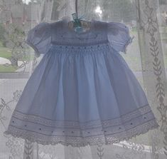 "The Old Fashioned Baby Sewing Room: ""Emma's Smocked Baby Dress"" - Available Again!"