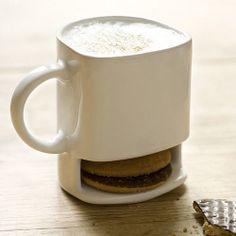 Ceramic Cookies and Milk Dunk Mug - Genius!