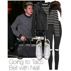 REQUESTED: Going to Taco Bell with Niall by style-with-one-direction on Polyvore featuring polyvore fashion style TIBI Mulberry Topshop Converse Yves Saint Laurent OneDirection 1d NiallHoran niall horan one direction 1d