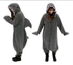 shark animal onesies