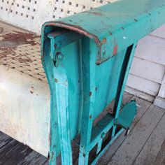 vintage metal glider