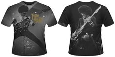 THIN LIZZY Phil Lynott Live T-shirt (all over print) Mens New 'Official' | eBay