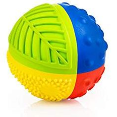 Petit - Rubber Sensory Ball caaocho® pure natural rubber Sensory Ball Rainbow is the perfect first toy for a baby. The ball starts as pure natural tree Cleaning Bath Toys, Kids Water Toys, Baby Sense, Baby Bath Toys, Green Toys, Sensory Toys, Pvc, Natural Rubber, Handmade Toys