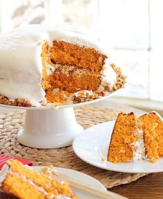 Sangrita Layer Cake With Citrus Meringue Frosting And Agave Crunch