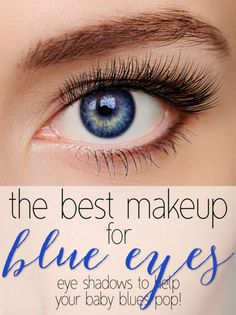 Looking for simple ways to make your baby blues POP? If you dare your bold choices will be golds, peaches, and coppers. And contrary to what you have been told, just because you have blue eyes doesn't mean you should avoid blue shadows! Blue eye shadow, liner and similar shades, such as grey and silver, all work very well together. Simply swap your eyeliner to navy from black and you will get a softer look instantly. Read on as eBay shares the secrets of finding the best makeup for blue…