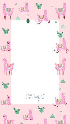 29 super Ideas for party background iphone birthday Cute Wallpapers, Wallpaper Backgrounds, Iphone Wallpapers, Llama Pictures, Diy Birthday Banner, Llama Birthday, Birthday Wallpaper, Theme Background, Mr Wonderful