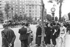 Westfeldzug, Frankreich, Juni 1940 - Paris.- Einmarsch deutscher Truppen;