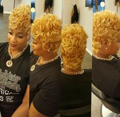 Curlyblond 27 Piece Hairstyles, Quick Weave Hairstyles, Wig Hairstyles, Woman Hairstyles, Wedding Hairstyles, Pixie Styles, Short Styles, Curly Hair Styles, Natural Hair Styles