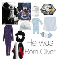 """""""He was born Oliver."""" by elisabeth-galfano ❤ liked on Polyvore featuring Forever 21, Vans, Timi & Leslie, Philips, Kissy Kissy, Carter's and Ralph Lauren"""