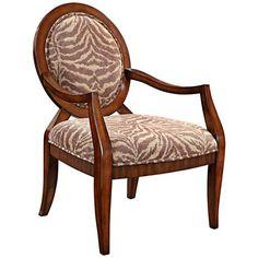 Malibu Tiger Earthen Accent Chair