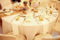 Notre mariage: la décoration de table - Happy Chantilly