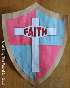Shield Of Faith - VBS 2017 craft for all ages