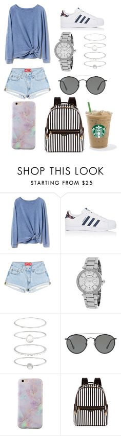 """""""Untitled #234"""" by brib978 ❤ liked on Polyvore featuring Gap, adidas, Michael Kors, Accessorize, Ray-Ban and Henri Bendel"""