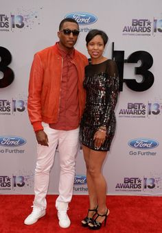 Lecrae and Darragah Moore (Christian hip-hop artist) 2013 BET Awards Red Carpet