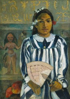 Gauguin the ancestors of Tehamana