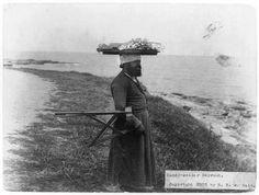 Candy vendor. Beirut 1895