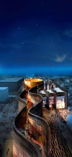 Expo 2015 : le pavillon des Emirats Arabes Unis