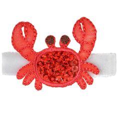 Ocean Clip Summer Hair Accessory Beach Bow Toddler Hair Clip Red Crab Hair Clip XoXo Amour Happy Crab Hair Clip Crabby Gift
