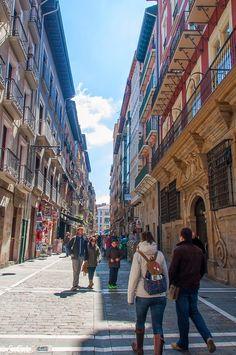 Calle Estafeta en Pamplona