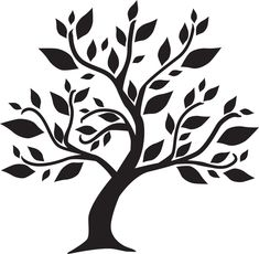 Génial Coût -Gratuit pochoir arbre Concepts, # stromnálepky -strom Step-by-step Sh… Tree Stencil, Stencil Painting, Tree Of Life Art, Tree Art, Wall Painting Decor, Black And White Tree, Tree Templates, Tree Graphic, Wood Burning Patterns