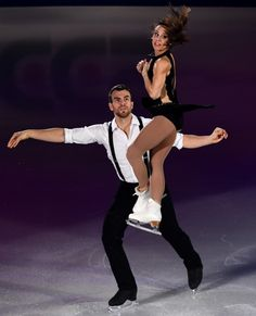 Canada's Meagan Duhamel (R) and Eric Radford perform during the gala exhibition at the Grand Prix of Figure Skating 2016/2017 NHK Trophy in Sapporo on November 27, 2016