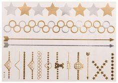 Temporäres Queen B Tattoo in Gold&Silber kaufen: Im Angebot nur 5,90 € ▷ Jetzt Queen B Tattoo bei POSH Tattoo bestellen!