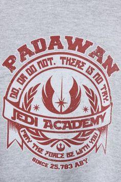 Camiseta Moletom Jedi Academy Star Wars Fan Art, Star Wars Light, Jedi Symbol, Star Wars Poster, Star Wars Party, School Themes, Barbarian, Clone Wars, Geeks