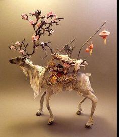 Animal sculptures by Ellen Jewett