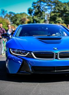 BMW I8 | BMW | i8 | electric future | i series | BMW photos | blue BMWs Read more: http://favcars.net/
