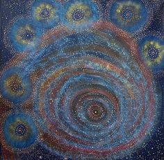 Alma Nungarrayi Granites ~ Napaljarri-warnu Jukurrpa (Seven Sisters Dreaming)
