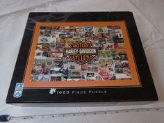 FX Schmid Harley Davidson history motorcycles 1000 Piece Puzzle RARE 78173 #FXSchmid