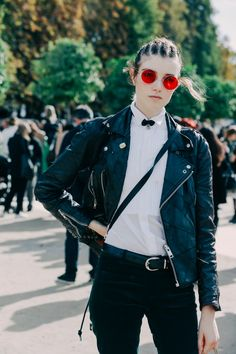 FWPE16 Street Looks at Paris Fashion Week Spring/Summer 2016 116