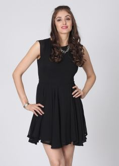 United Colors of Benetton Women`s Gathered Dress