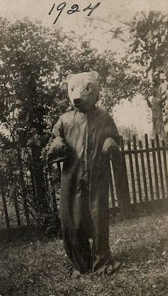 Halloween costumes of long ago