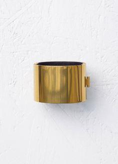 Minimal Manchette in Brass - Céline