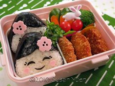 comida japonesa decorada