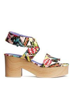 Sandalias estampadas | H&M