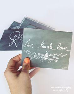 10 Valentine's Day Card Printables!