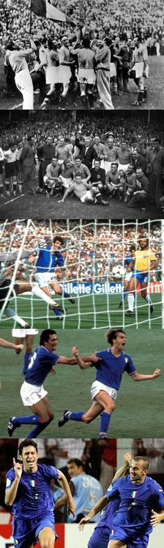 Cinque partite memorabili nei Mondiali di calcio vinti dall'Italia