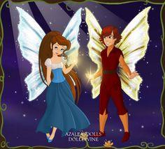 Thumbelina and Cornelius | Fairy Thumbelina and Prince Cornelius by ArielxJim08
