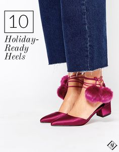 Glam shoes for the holiday season!