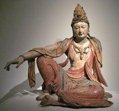 Seated Bodhisattva Avalokitesvara Guanyin